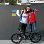 Macarena Pérez fue séptima en el Mundial UCI BMX Freestyle de China