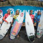 "El fuerte viento obligó a suspender la segunda jornada del ""Maui And Sons Pichilemu Women's Pro"""