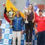 Chile obtuvo el tercer lugar en el Panamericano de Escalada Deportiva