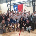Puerto Varas se quedó con el título del Nacional Sub 17 de Básquetbol Masculino