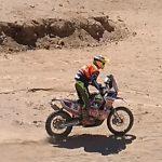 Tomás de Gavardo fue segundo en las motos en primer día del Nacional de Rally Cross Country