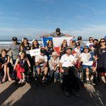 Comenzó la participación chilena en el Mundial de Surf Adaptado
