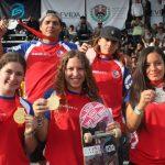 Chile obtuvo cinco medallas en el Panamericano de Skateboarding