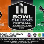 Felinos y Húsares disputarán este sábado el III Bowl Chileno