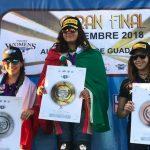 Isis Carreño es campeona iberoamericana y subcampeona mundial de la Monomarca Italika