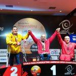 Juan Carlos Garrido y Camila Campos ganan medalla de oro en el Panamericano de Para Powerlifting
