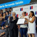 La pesista María Fernanda Valdés recibió el Premio Nacional del Deporte 2017