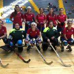 """Las """"Marcianitas"""" derrotaron a Colombia en nueva fecha del Panamericano de Hockey Patín"""