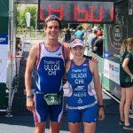 Martín Ulloa y Macarena Salazar ganaron el Triatlón de Piedra Roja 2018
