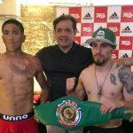 """""""Pancora"""" Velásquez está listo para la disputa del título sudamericano súpergallo plata del CMB"""