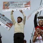 Pedro Ferreira ganó el Downhill Challenge en la Comuna 13 de Medellín