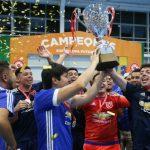 Universidad de Chile ganó la Copa de Campeones 2018 del Futsal Chileno