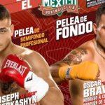 Óscar Bravo y Joseph Cherkashyn serán parte de una nueva velada del Club México