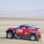 Boris Garafulic y Luis Barahona se instalan en el top ten de autos y quads del Dakar
