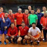 Equipo chileno de Copa Davis trabaja con formación completa en Salzburgo
