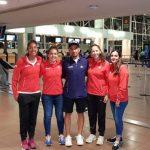 Equipo Chileno de Fed Cup viajó a Medellín para disputar la Zona I Americana