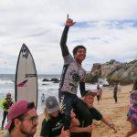 El peruano Juninho Urcia ganó la primera fecha del ALAS Latin Tour 2019 disputada en Viña del Mar