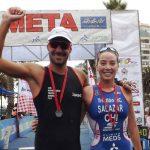Martín Maluf y Catalina Salazar ganaron el Triatlón Internacional de Viña del Mar