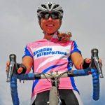 Ciclista nacional Aranza Villalón continuará su carrera deportiva en Colombia