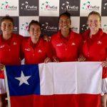 Equipo Chileno de Fed Cup debuta este miércoles ante Brasil en la Zona I Americana