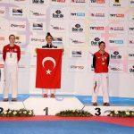 Fernanda Aguirre ganó medalla de bronce en el Open Turquía de Taekwondo