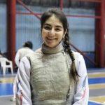 Katina Proestakis ganó medalla de bronce en el Panamericano Cadete y Juvenil de Esgrima