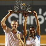 Nicolás Jarry y Máximo González se titularon campeones de dobles del ATP 500 de Río de Janeiro