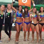 Duplas Rivas/Mardones y Sanoja/Hernández ganaron la quinta fecha del Circuito Nacional de Volleyball Playa