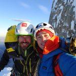 Sebastián Rojas y Rodolfo Torrens se convierten en los primeros chilenos en hacer cumbre en la Torre Egger