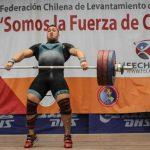 Pesista Arley Méndez logra tres récords nacionales en la categoría 96 kilos
