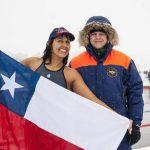 Bárbara Hernández ganó seis medallas en nueva fecha del Circuito Mundial de Natación en Aguas Gélidas
