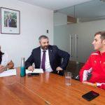Benjamín Hites se reunió con la Ministra del Deporte tras su buena actuación en Austin