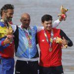 Camilo Valdés ganó medalla de bronce en el canotaje de los Juegos Sudamericanos de Playa