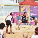 Selección Chilena Masculina de Handball de Playa clasificó a semifinales en Rosario 2019