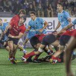 La Selección Chilena M20 de Rugby cayó ante Uruguay en el Sudamericano de la categoría