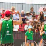 Primos Grimalt se instalan en la final de la fecha australiana del Circuito Mundial de Volleyball Playa