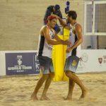 Primos Grimalt avanzan a los cuartos de final en Qatar