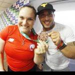 Team Chile de Levantamiento de Pesas comienza gira internacional que finalizará en el Panamericano