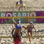 Chile debutó en el volleyball y rugby de los Juegos Sudamericanos de Playa 2019