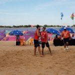 Gaspar Lämmel e Ignacio Zavala terminaron cuartos en el volleyball playa de Rosario 2019