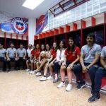 Se inauguró el camarín exclusivo de la Roja Femenina en el Estadio Nacional