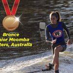 Josefa González ganó medalla de bronce en el Junior Moomba Masters