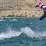 Evento de kitesurf sólo para mujeres se realizará en el embalse Puclaro