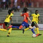 La Roja Femenina cayó en su segundo partido amistoso ante Jamaica