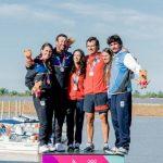 María Jesús y Matías Seguel logran el sexto oro chileno en los Juegos Sudamericanos de Playa