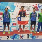 Nicolás Burgos ganó medalla de oro en el Sudamericano Juvenil e Infantil de Tenis de Mesa