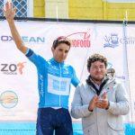 El colombiano Óscar Sevilla ganó el prólogo de la Vuelta Ciclista a Chiloé