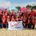 El rugby de playa le entrega dos nuevas medallas de plata a Chile en Rosario 2019