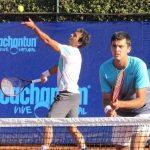 Tomás Barrios y Gonzalo Lama cayeron en semifinales de dobles del Cachantun Open