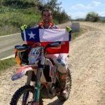 Tomás de Gavardo ganó la categoría junior en la segunda fecha de la Copa del Mundo de Bajas